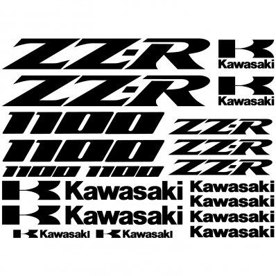Wandtattoos Folies Kawasaki Aufkleber