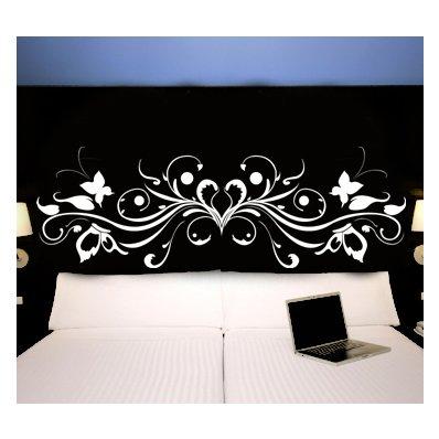wandtattoos folies bettkopfteil. Black Bedroom Furniture Sets. Home Design Ideas