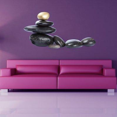 wandtattoos folies steine. Black Bedroom Furniture Sets. Home Design Ideas