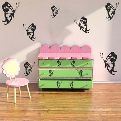 wandtattoos folies sp lmaschine aufkleber blumen. Black Bedroom Furniture Sets. Home Design Ideas
