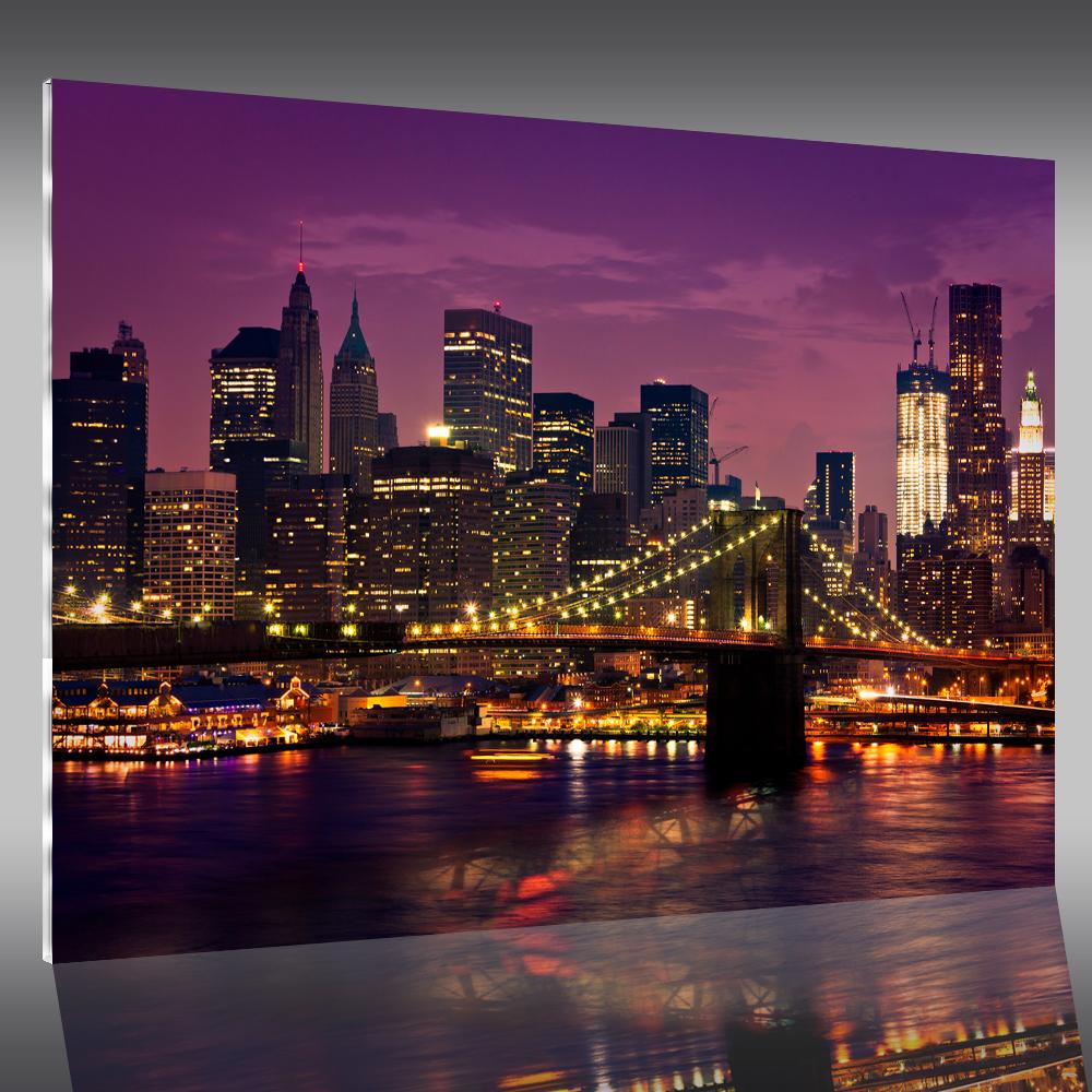 wandtattoos folies acrylglasbild new york. Black Bedroom Furniture Sets. Home Design Ideas
