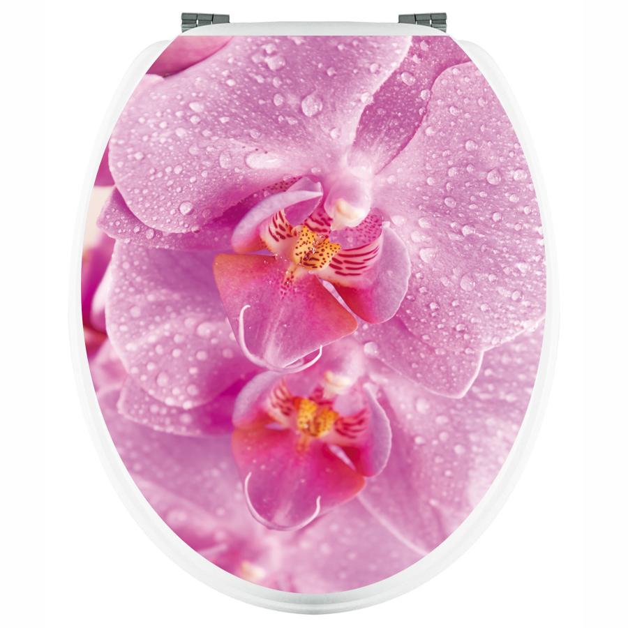Aufkleber Für Toilettendeckel : wandtattoos folies aufkleber f r toilettendeckel orchidee ~ Orissabook.com Haus und Dekorationen