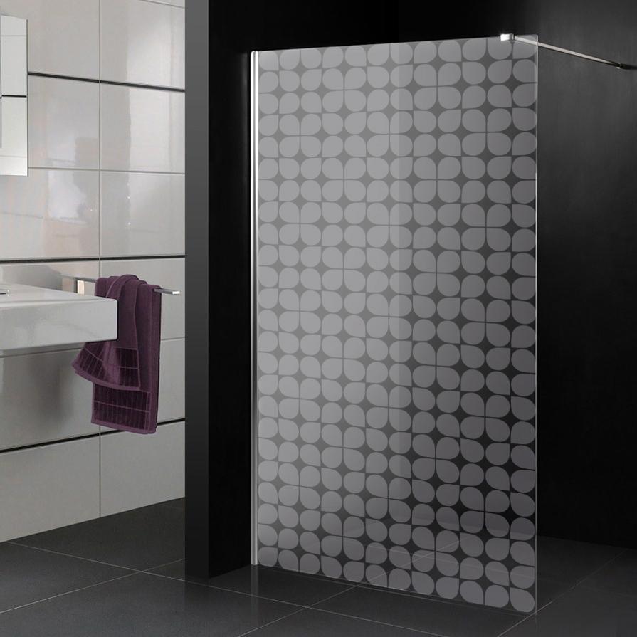Glastattoo dusche design