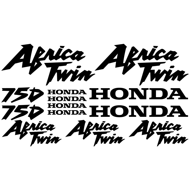 Wandtattoos Folies Honda Africa Twin 750 Aufkleber Set
