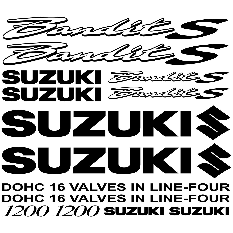 Wandtattoos Folies Suzuki 1200 Bandit S Aufkleber Set
