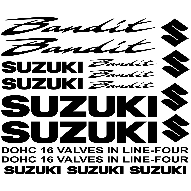 Suzuki Bandit Aufkleber Set