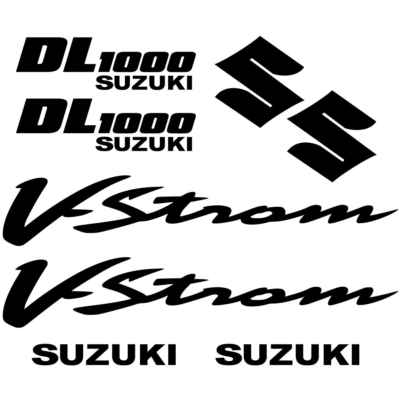 Wandtattoos Folies Suzuki Dl 1000 Vstrom Aufkleber Set