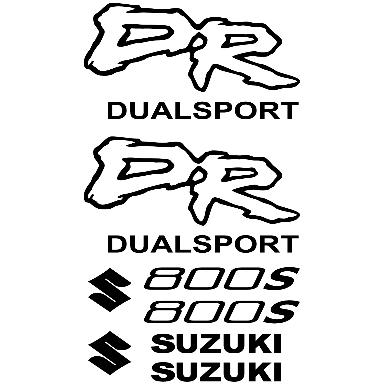 Wandtattoos Folies Suzuki Dr 800s Aufkleber Set