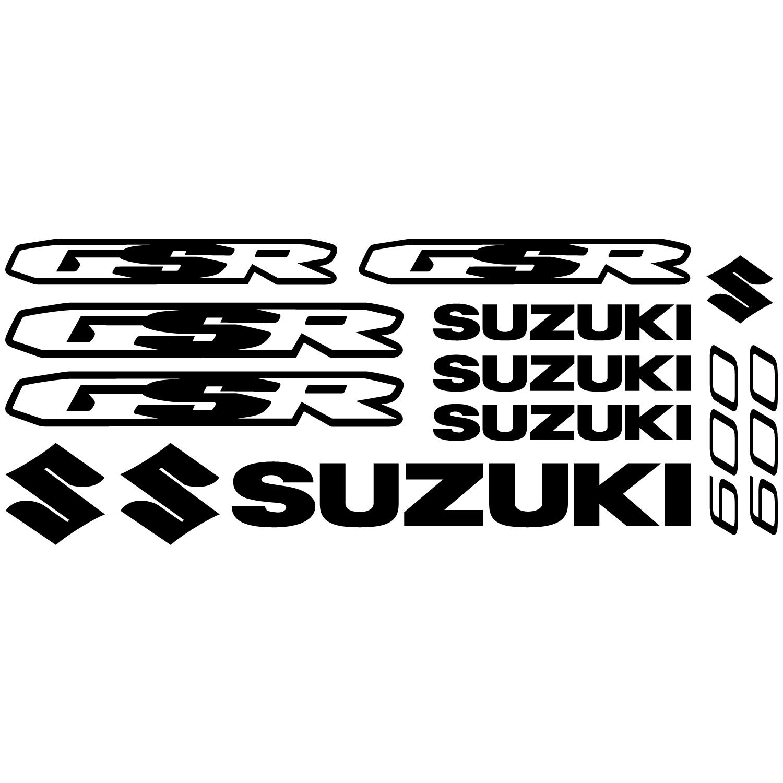 Wandtattoos Folies Suzuki Gsr 600 Aufkleber Set