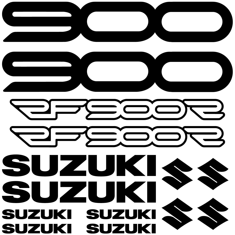 Wandtattoos Folies Suzuki Rf900r Aufkleber Set