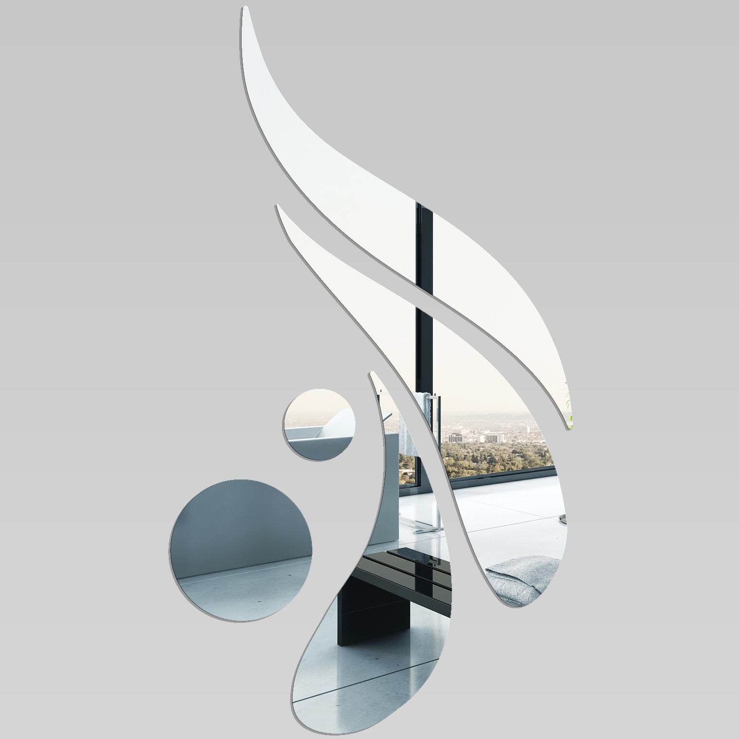 Wandtattoos folies wandspiegel aus acrylglas design - Wandspiegel design ...