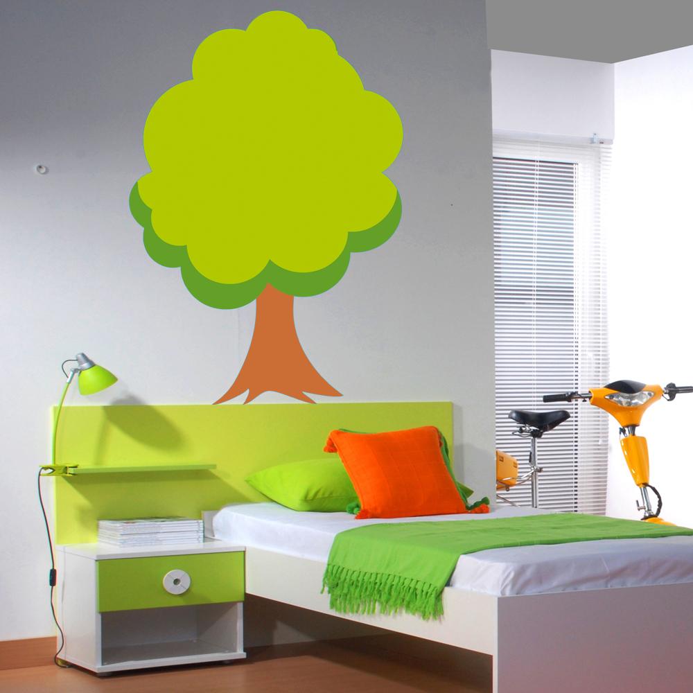 Bezaubernd Wandsticker Baum Dekoration Von