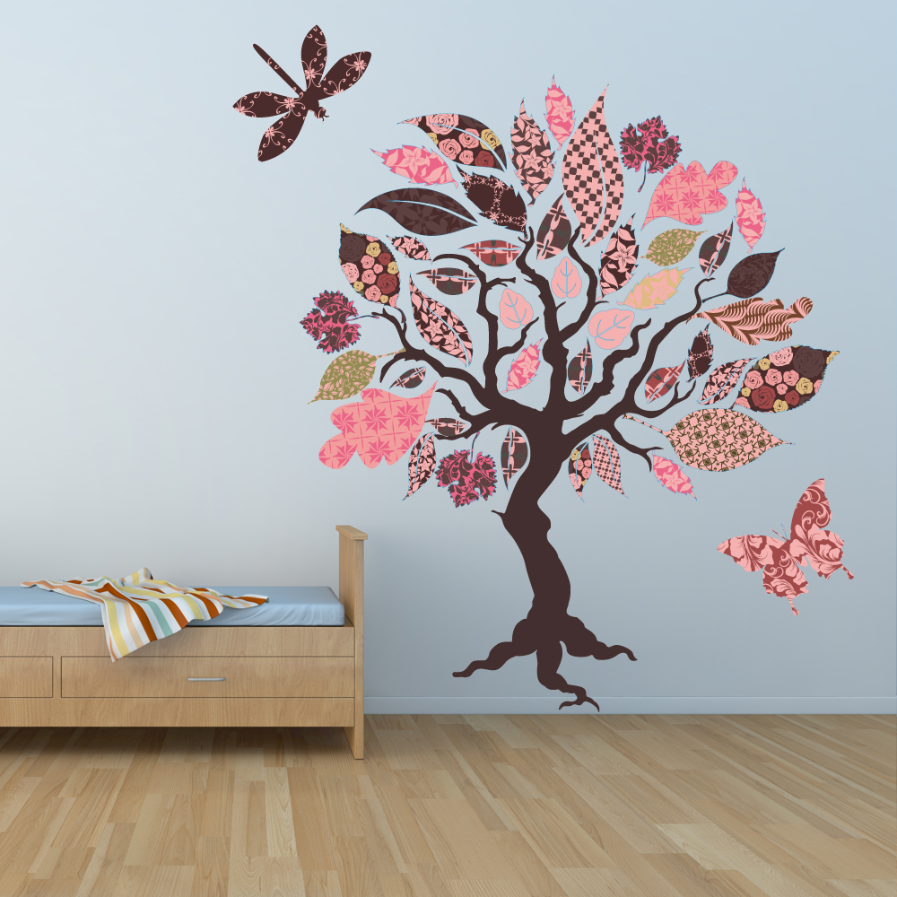 Wandtattoos folies wandsticker baum for Wandsticker baum