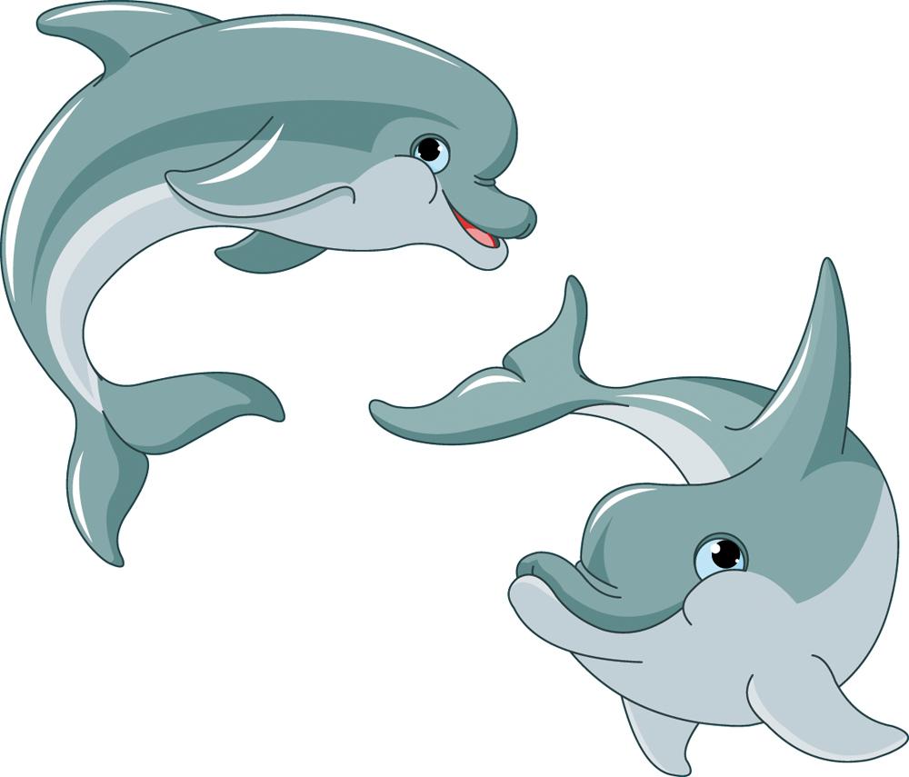 буквы веселые рисунки дельфинов платья