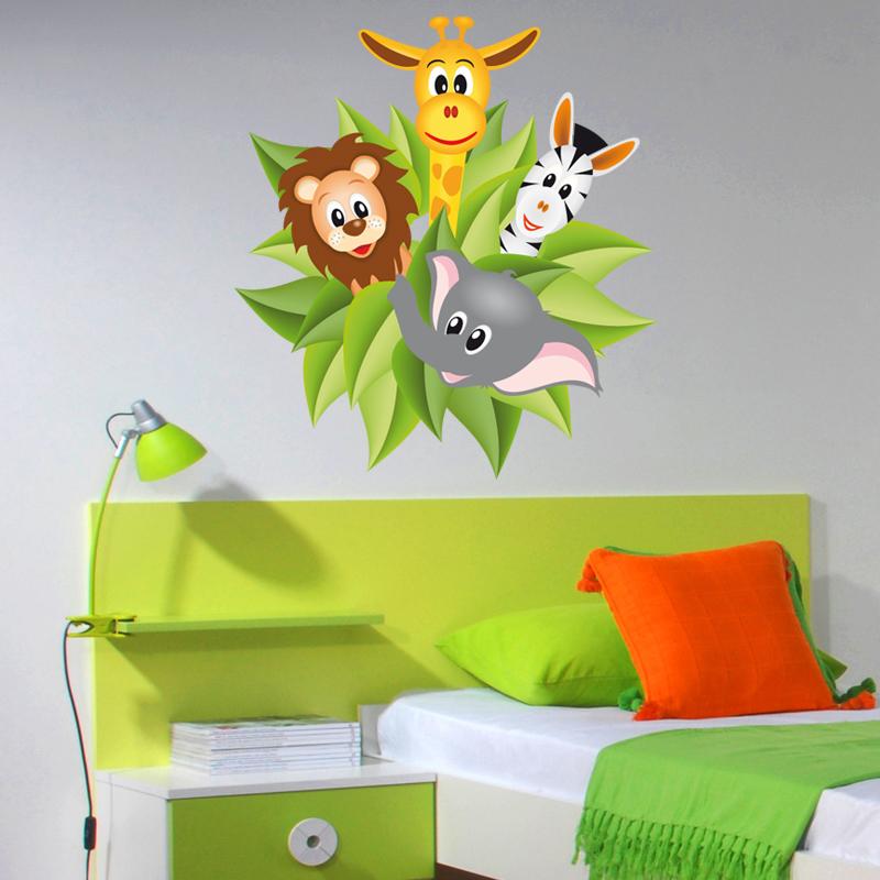wandtattoos folies wandsticker dschungel. Black Bedroom Furniture Sets. Home Design Ideas