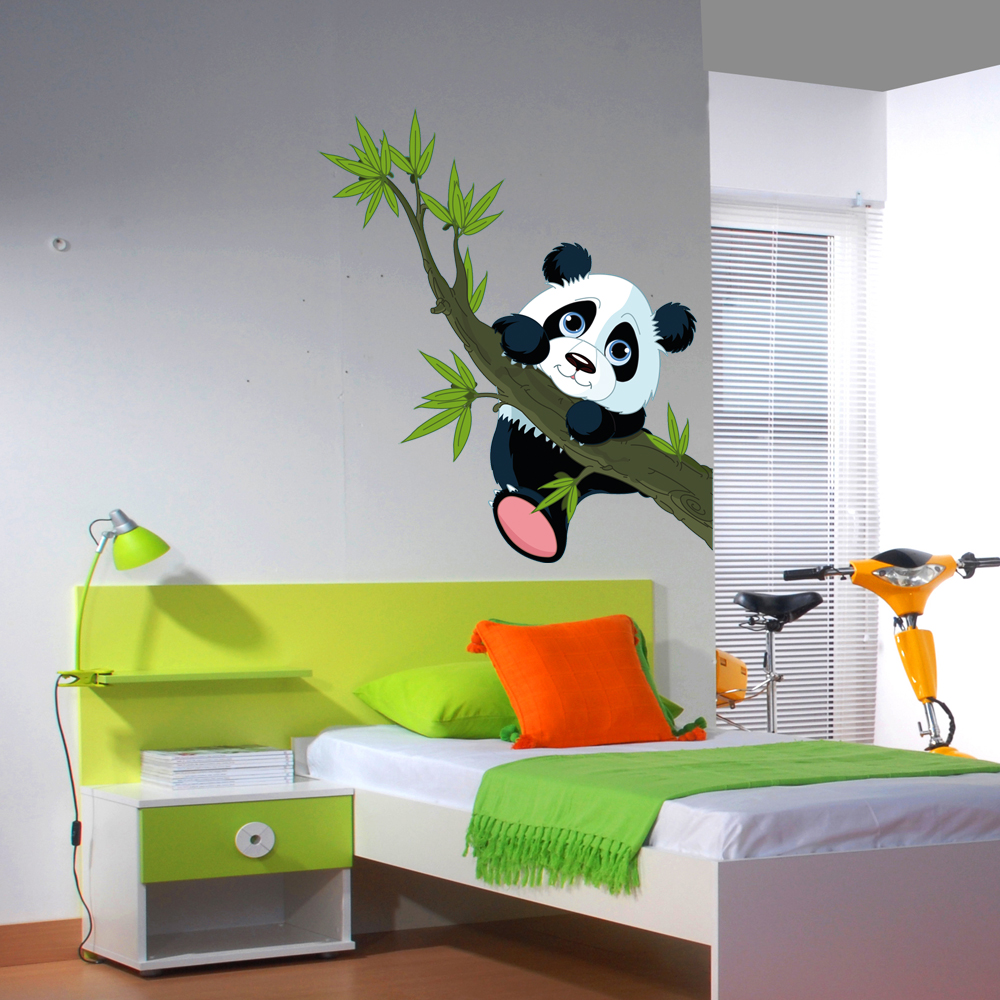 wandtattoos folies wandsticker panda. Black Bedroom Furniture Sets. Home Design Ideas
