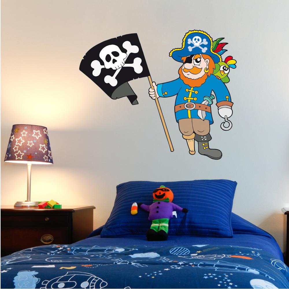 wandtattoos folies wandsticker pirat. Black Bedroom Furniture Sets. Home Design Ideas