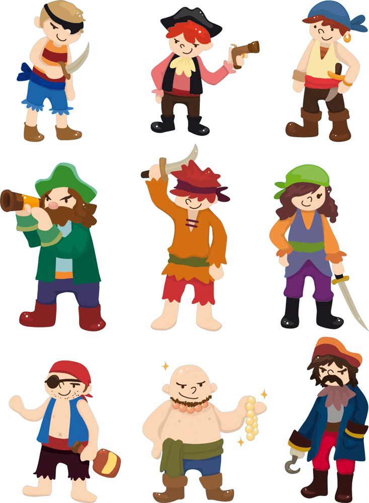 wandtattoos folies wandsticker piraten set On piraten wandsticker