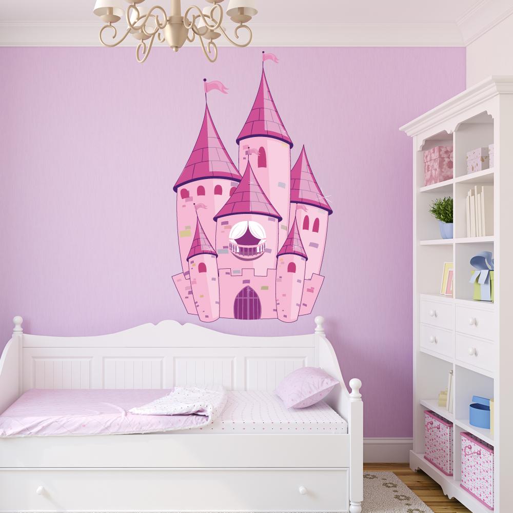 Wandtattoos Folies Wandsticker Schloss
