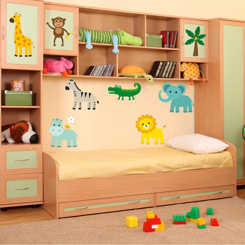 wandtattoos folies wandsticker tiere set. Black Bedroom Furniture Sets. Home Design Ideas