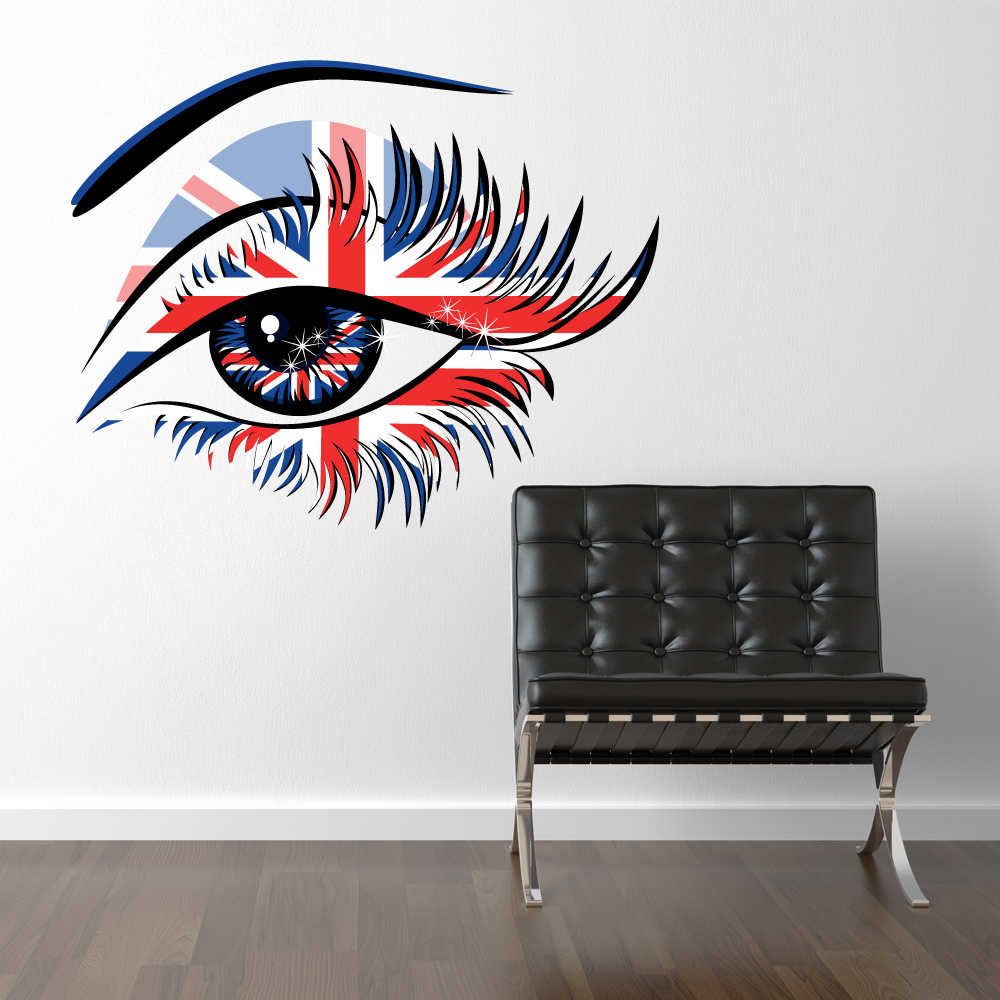 Cool Wandtattoo Bilder Decoration Of Auge London