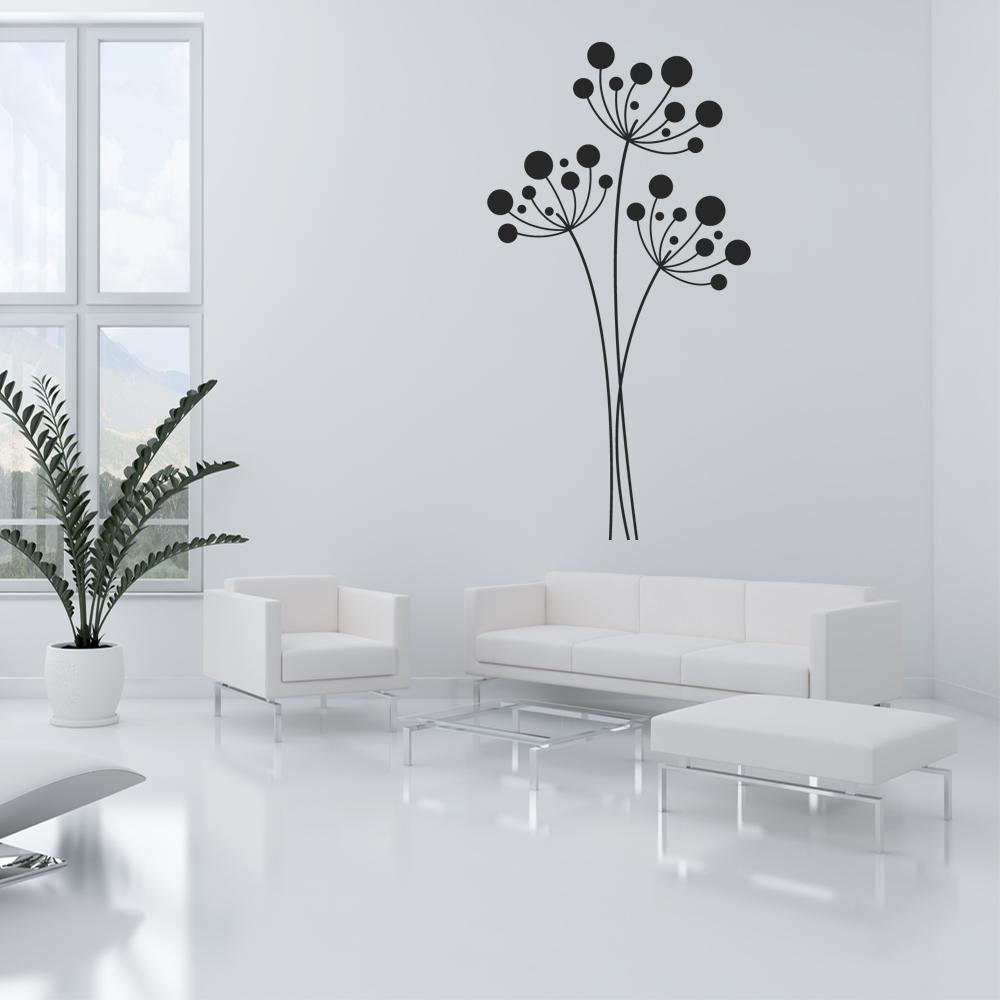 Attraktiv Wandtattoo Blume Galerie Von