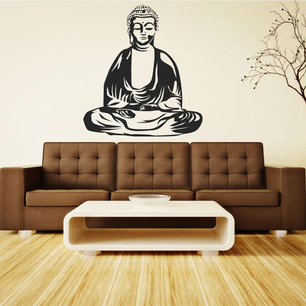 Wandtattoos folies wandtattoo buddha - Wandtattoo buddha ...