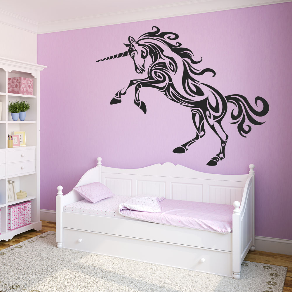 Wandtattoos folies wandtattoo einhorn for Chambre unicorn