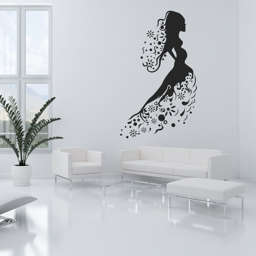 wandtattoos folies wandtattoo frauen. Black Bedroom Furniture Sets. Home Design Ideas