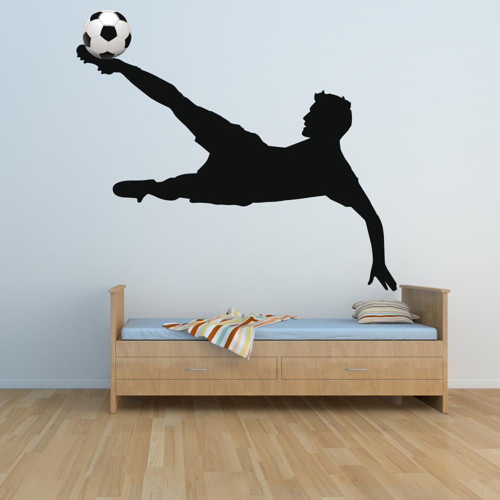 Bezaubernd Wandtattoo Fußball Ideen Von Fußball