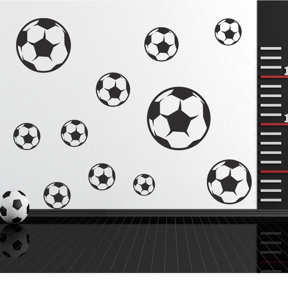 Fabelhaft Wandtattoo Fußball Beste Wahl Fußball Set