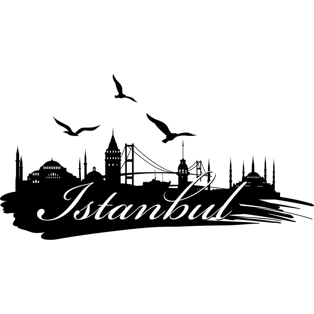 Wandtattoos folies wandtattoo istanbul - Wandtattoo orientalisch ...