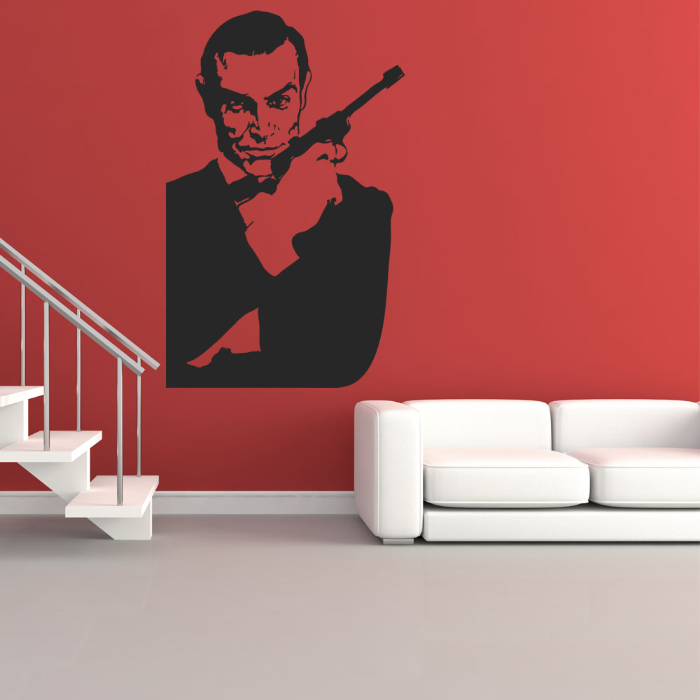 wandtattoos folies wandtattoo james bond