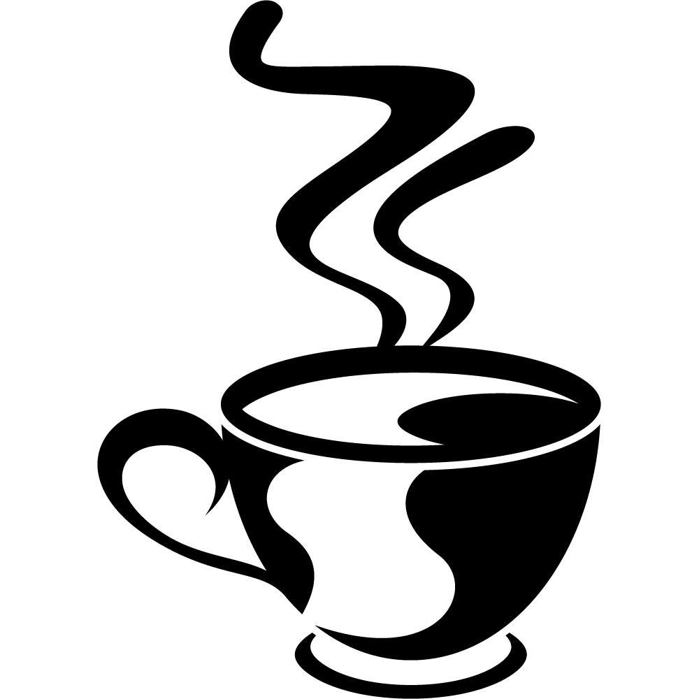 Wandtattoos Folies Wandtattoo Kaffeetasse
