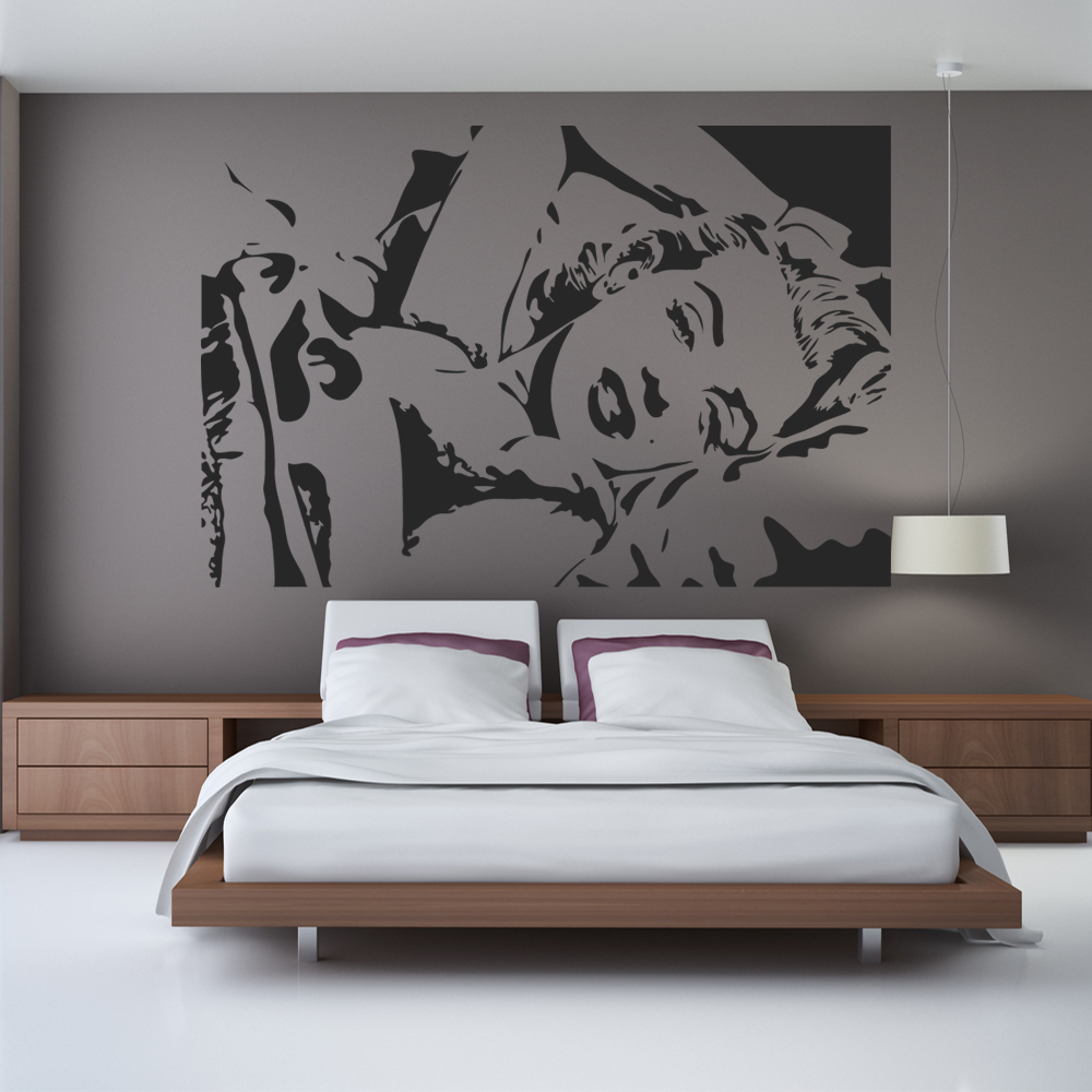wandtattoos folies wandtattoo marilyn monroe. Black Bedroom Furniture Sets. Home Design Ideas