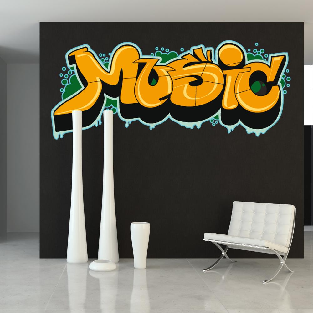 wandtattoos folies wandtattoo musik. Black Bedroom Furniture Sets. Home Design Ideas