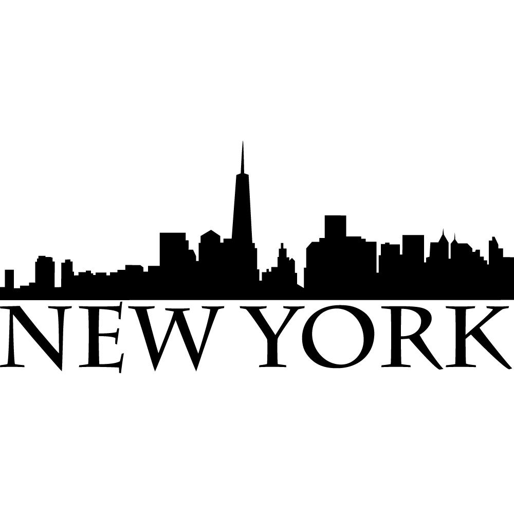Einzigartig Wandtattoo New York Foto Von