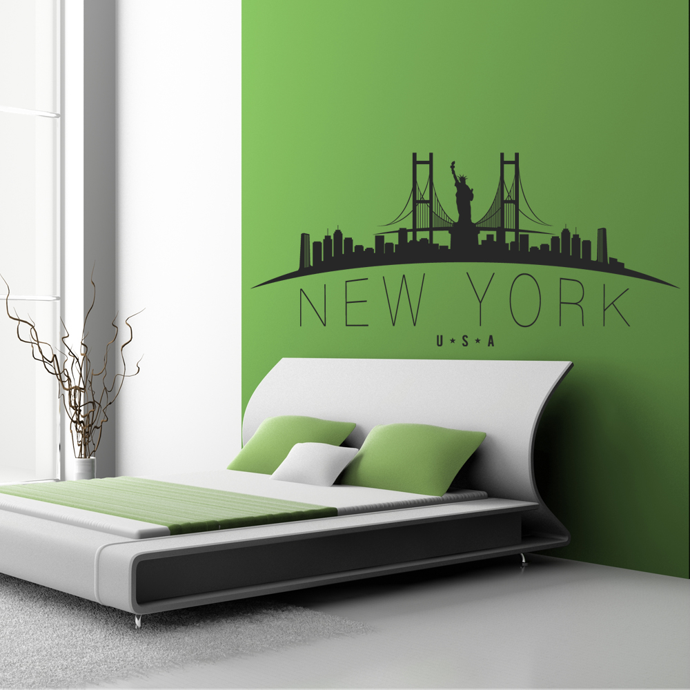 Außergewöhnlich Wandtattoo New York Das Beste Von