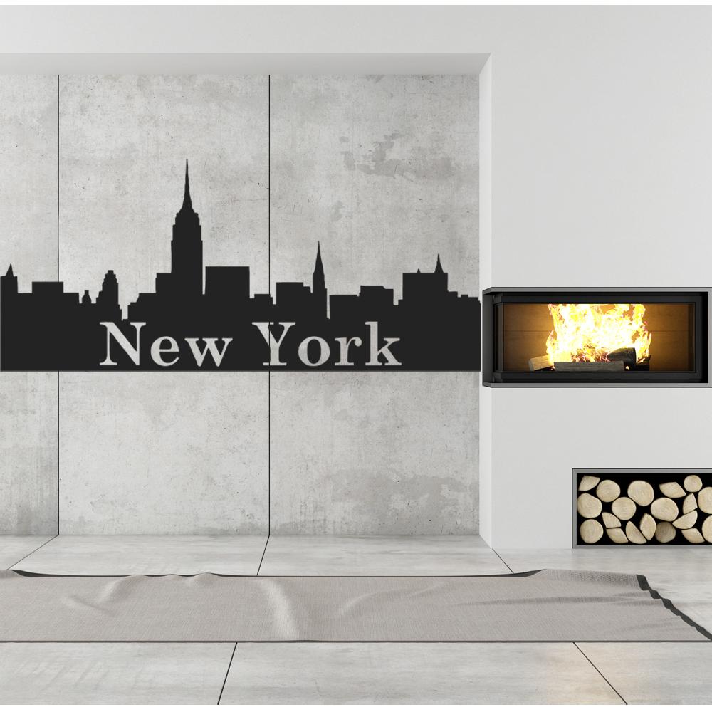 Gewaltig New York Wandtattoo Foto Von