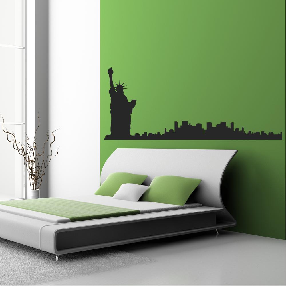Wundervoll New York Wandtattoo Galerie Von