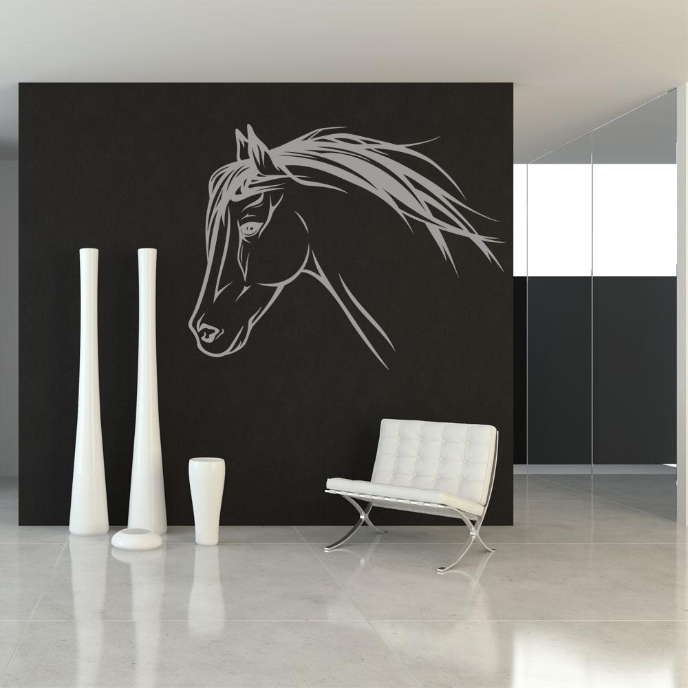Wandtattoos folies wandtattoo pferd for Decoration murale japonaise