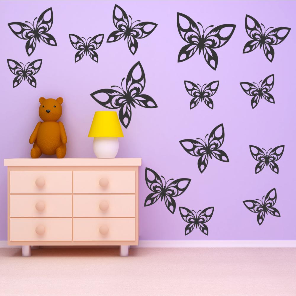 Elegant Wandtattoo Schmetterling Ideen Von Set