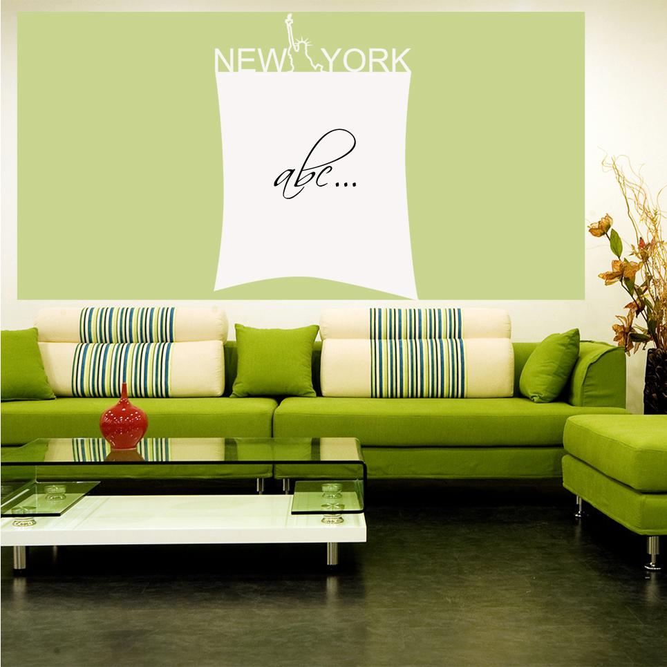 Faszinierend New York Wandtattoo Ideen Von Velleda Weisse Tafel