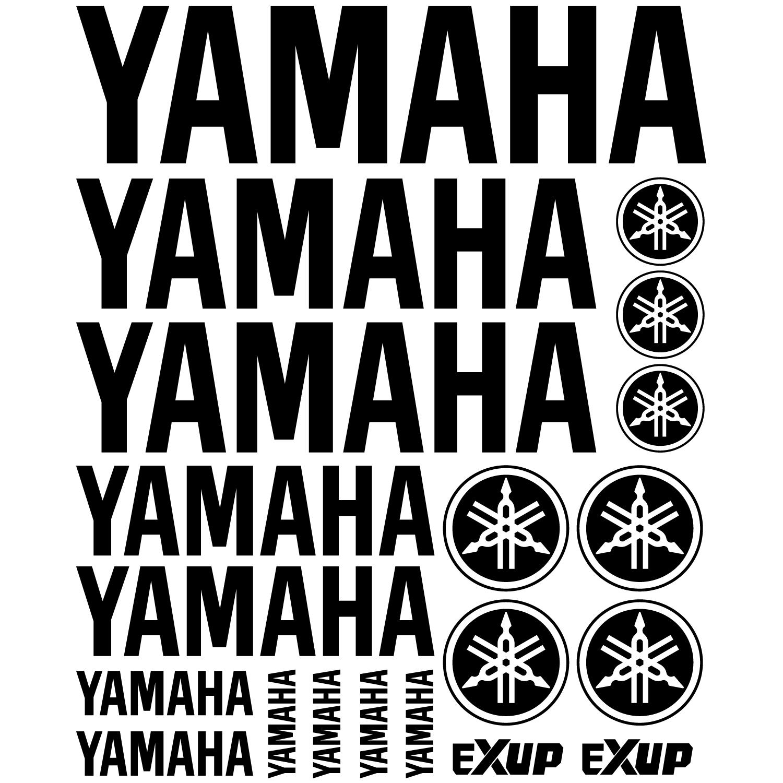 Wandtattoos Folies Yamaha Aufkleber Set