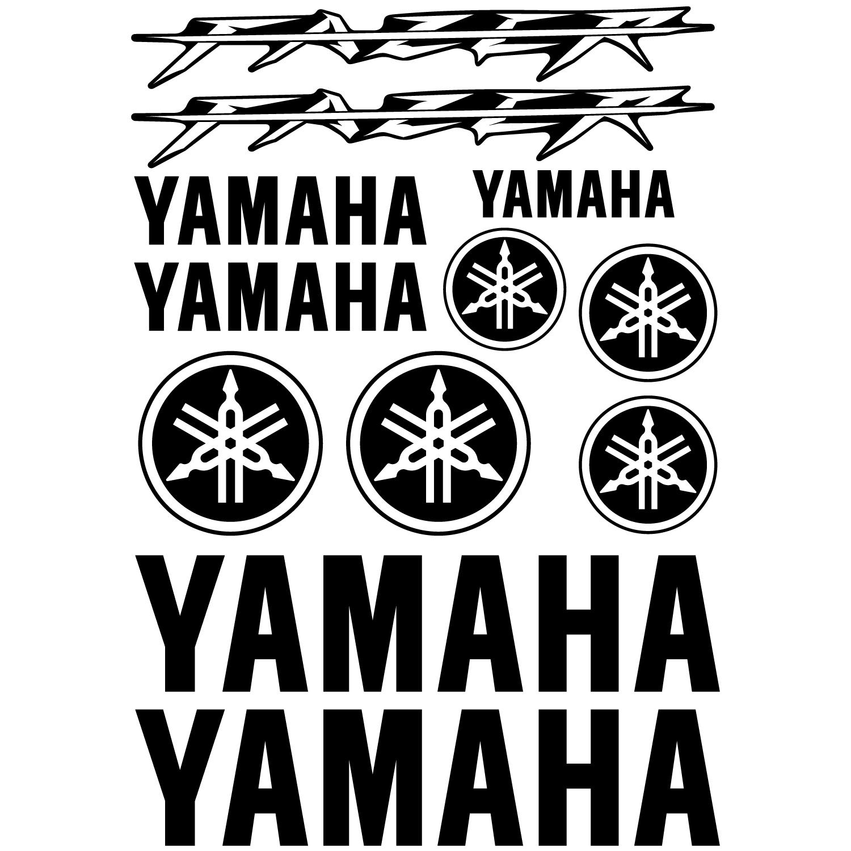 Wandtattoos Folies Yamaha Fazer Aufkleber Set