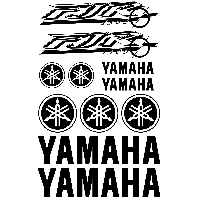 Wandtattoos Folies Yamaha Fjr 1300 Aufkleber Set