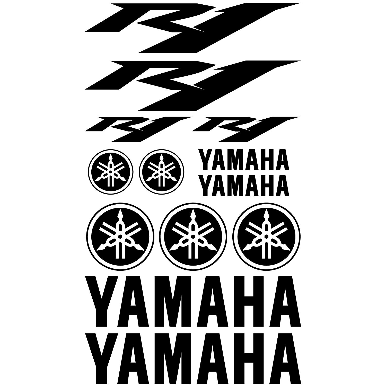 wandtattoos folies yamaha r1 aufkleber set. Black Bedroom Furniture Sets. Home Design Ideas