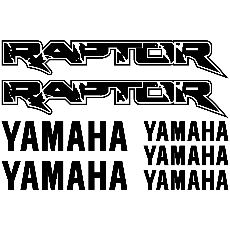 wandtattoos folies yamaha raptor aufkleber set. Black Bedroom Furniture Sets. Home Design Ideas