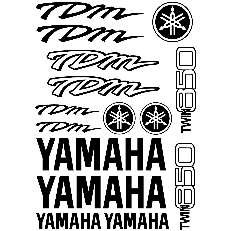 wandtattoos folies yamaha tdm twin 850 aufkleber set. Black Bedroom Furniture Sets. Home Design Ideas