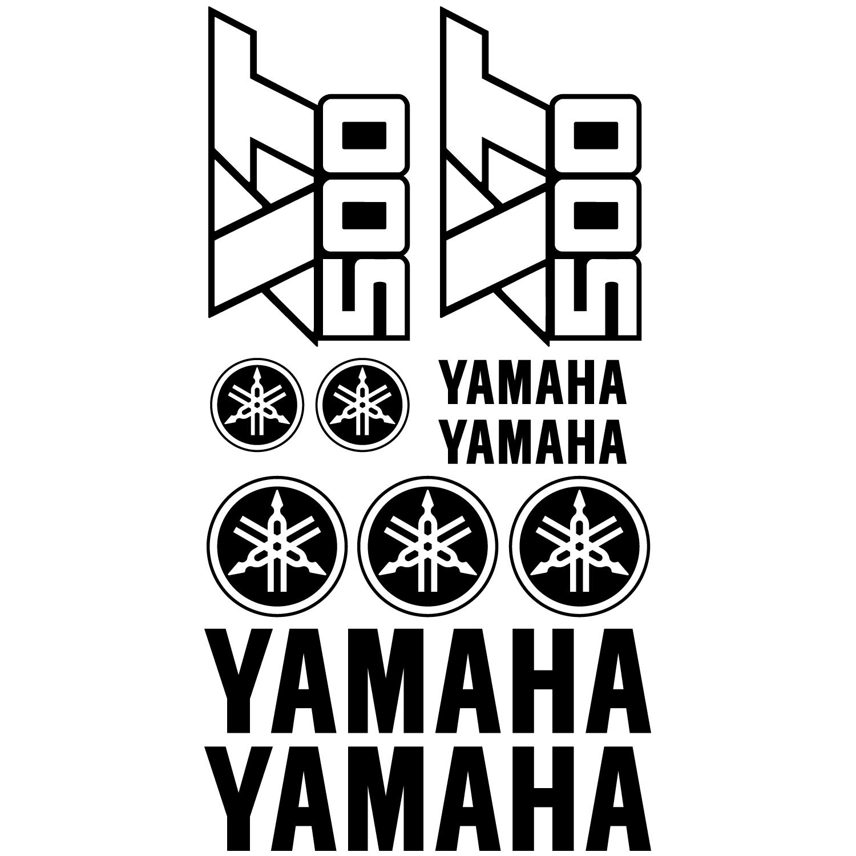 Wandtattoos Folies Yamaha Xt 500 Aufkleber Set